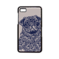 pug mandala for phone case Blackberry Z10/Z30/Q10