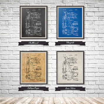 Practice Drum Print, Drum Set Art, Drummer Decor, Drum Set Patent, Drum Set Print, Music Room Wall Art, Drummer Art Gift, INSTANT DOWNLOAD