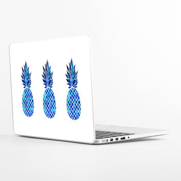 Maritime Pineapple Laptop Skin