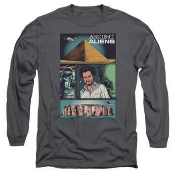 Ancient Aliens - Aliens Comic Page Long Sleeve Adult 18/1