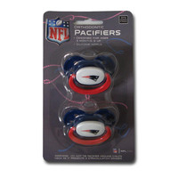 Baby Fanatic 2-Pack Pacifiers - New England Patriots