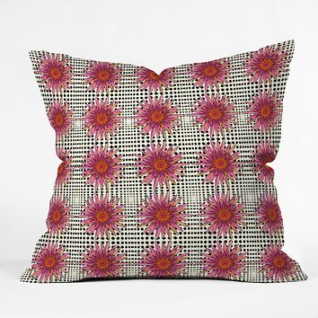 Ingrid Padilla Pretty Pinkies And Dots Throw Pillow