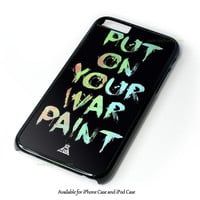 Fall Out Boy Qoutes iPhone 4 4S 5 5S 6 6 Plus Case and iPod Touch 4 5 Case