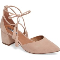 Halogen® Iris Lace-Up d'Orsay Pump (Women) | Nordstrom
