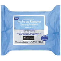 Walmart: Neutrogena Makeup Removing Cleansing Towelettes, 25 Count