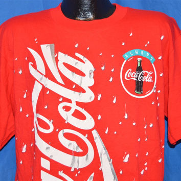 90s Coca-Cola Snowflake Deadstock t-shirt Large