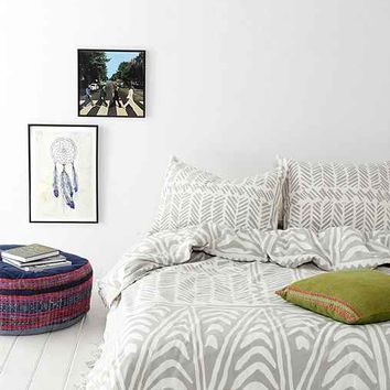 Magical Thinking Hand-Drawn Geo Duvet Cover