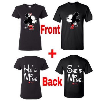 Mickey And Minnie Couples Shirts Best Mickey And...