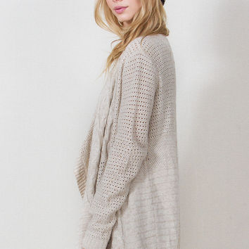 Chunky Cozy Cream Sweater