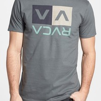 Men's RVCA 'Stripe Box' Graphic T-Shirt