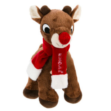 Rudolph the Red-Nosed Reindeer® Pet Holiday Reindeer Dog Toy - Plush, Squeaker | Toys | PetSmart