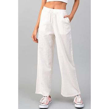 Sandy Shores Soft White Pants