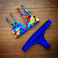 The Tide Pool Brazilian Bikini Bottoms