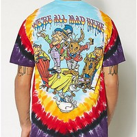 Who Are You Alice In Wonderland Tie Dye Tee - Spencer's