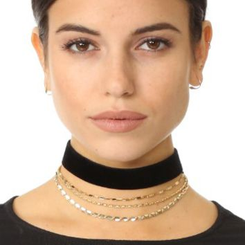 Layered Up Choker Necklace