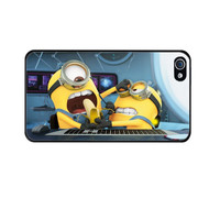 Funny Despicable me iPhone 5 Case iPhone 4S iPhone 4, Funny Despicable me Case For Galaxy S4 Moinions Galaxy S3  Minion Case- USA Seller