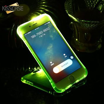LED Light Flash Phone Case For iPhone