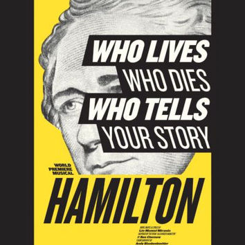 Hamilton The Revolution Poster 24x36 Musical