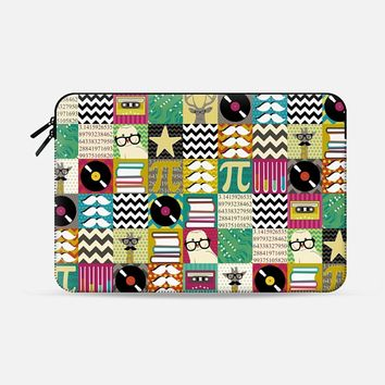 hip hip geek Macbook Pro 13 sleeve by Sharon Turner | Casetify