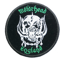 MOTORHEAD England Warpig Sew On Embroidered Patch