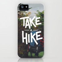 Take A Hike iPhone & iPod Case by Zeke Tucker