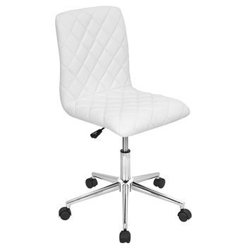 OC-TW-CAV W Caviar Height Adjustable Office Chair with Swivel