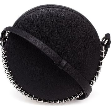 Paco Rabanne Chain-mail And Leather Drum Bag - Browns - Farfetch.com