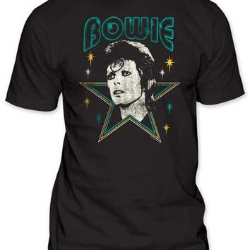 David Bowie Stars Mens T-Shirt