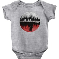 stranger things Baby Onesuit