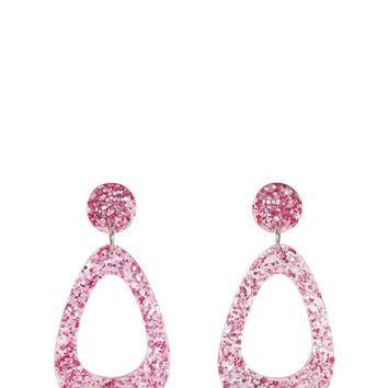 Pink Cindy Earrings