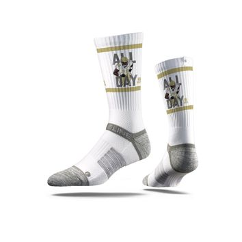 NFLPA - Adrian Peterson, White - Strideline Crew Socks