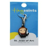 St. Joan of Arc Tiny Saints Charm, Baby and Children , Confirmation Gifts at The Catholic Company