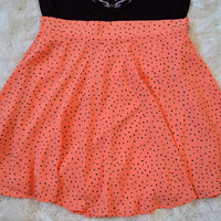Speckled Salmon Skirt