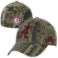 Top of the World Alabama Crimson Tide Resistance Flex Hat - Mossy Oak Camo