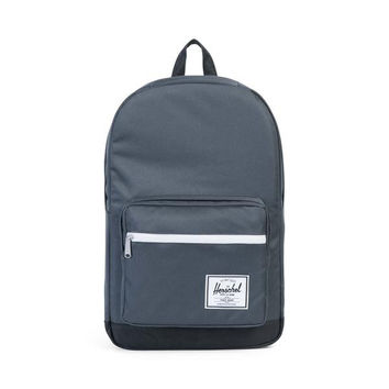 HERSCHEL SUPPLY CO POP QUIZ BACKPACK - DARK SHADOW/BLACK