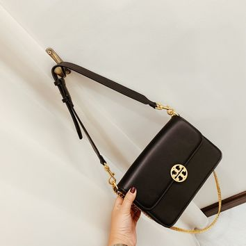Fashion Tory burch Women Leather monnogam Handbag Crossbody bags Shouldbag Bumbag