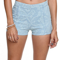 Bullhead Jacquard High Rise Tap Shorts at PacSun.com