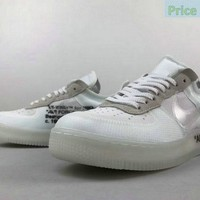 2018 Popular Unisex Nike Air Force 1 Low Off White shoe