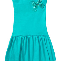 Kate Spade Toddlers' Drop Waist Dress Island Blue
