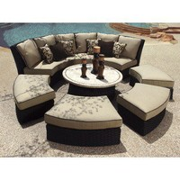 Veranda Classics Bali 7 Piece Sectional | Wayfair