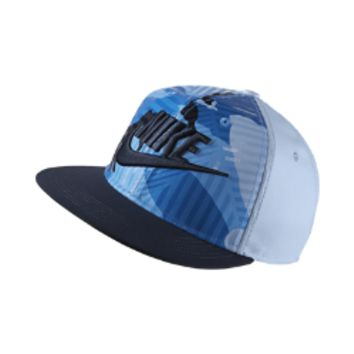 Nike Camo Futura True Kids' Adjustable Hat (Blue)