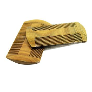 Wood Comb Pocket Beard Mustache Wooden Comb SmallFine Tooth Handmade