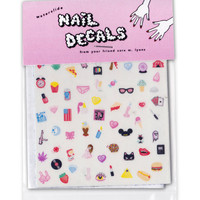 CUTE & SLEAZY NAIL DECALS