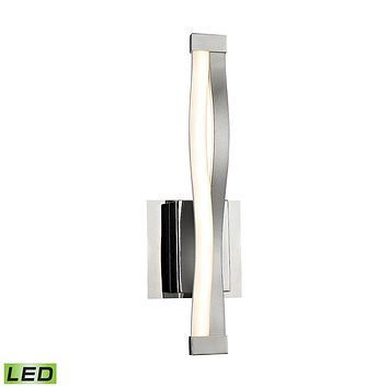 Twist LED Wall Sconce - 6W with Alluminum Finish