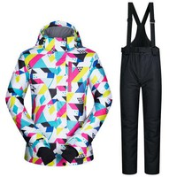 Women's Ski Snowboard Suit | Jacket and Pants