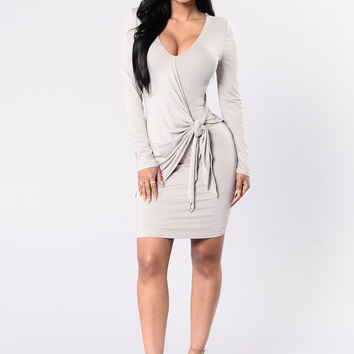 Love Me Knot Dress - Silver