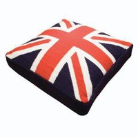Jonathan Adler British Flag Dog Bed in All Curiosities