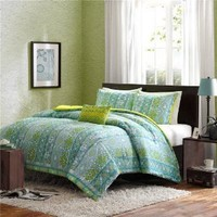 Mizone Sasha Comforter Set - Blue - Twin