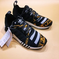 Off-White Adidas NMD R1 Fashion Trending Running Sports Shoes Sneakers - Love Q333