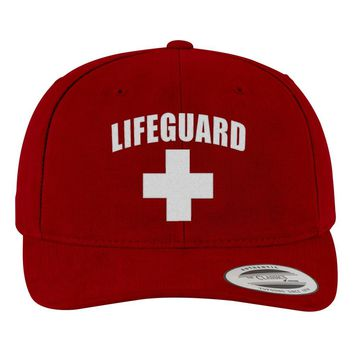 Lifeguard Brushed Embroidered Cotton Twill Hat